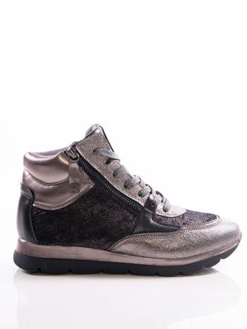 Srebrne buty sportowe BIG STAR