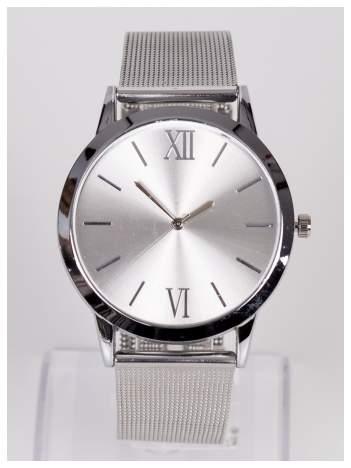 Srebrny damski zegarek. Klasyka i elegancja