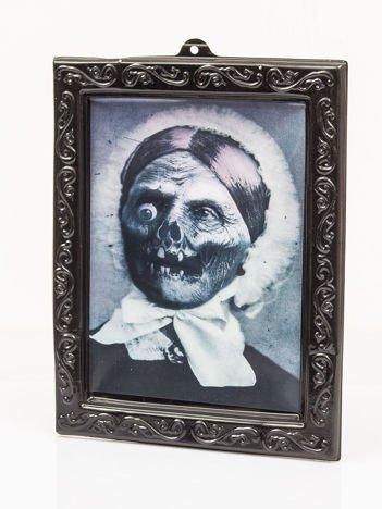 Straszne zdjęcie starszej kobiety 3D