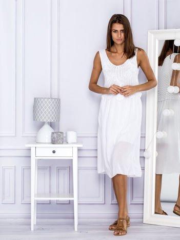 Sukienka letnia biała