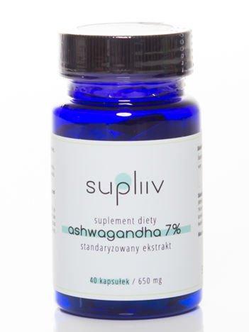 Supliiv - Ashwagandha standaryzowany ekstrakt 7% 40 kapsułek
