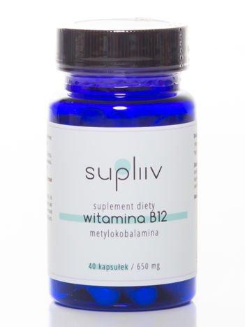 Supliiv – Witamina B12 metylokobalamina 40 kapsułek