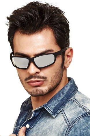 Sur Pass Sportowe okulary męskie lustrzanki