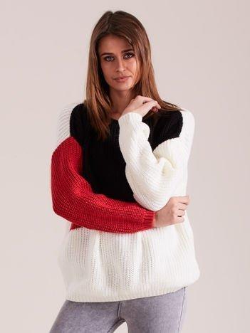 Sweter damski trzy kolory
