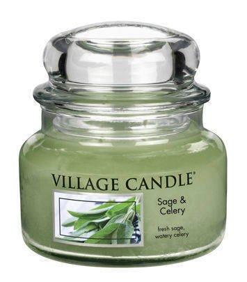 Świeca zapachowa Village Candle 270 gr - Sage & Celery