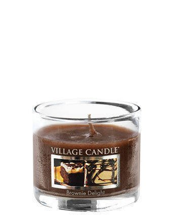 Świeca zapachowa Village Candle Mini Glass 29gr - Brownie Deligh