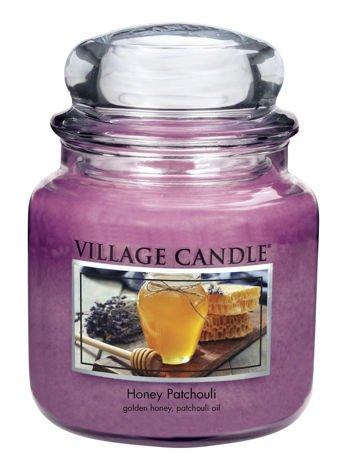 Świeca zapachowa Village Candle ŚREDNIA 453 gr - Honey Patchouli