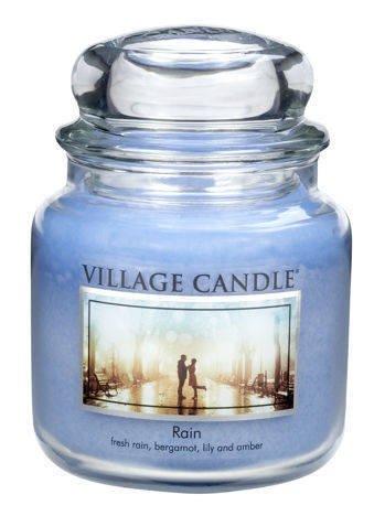 Świeca zapachowa Village Candle ŚREDNIA 453 gr - Rain