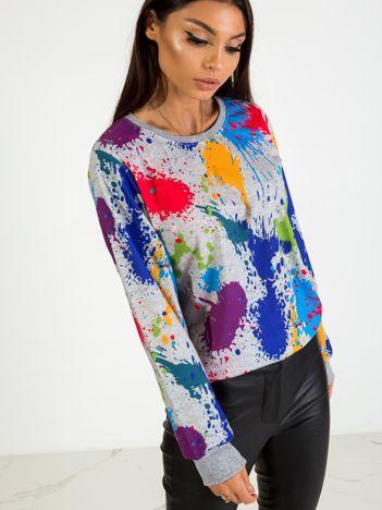 Szara bluza Nevermind
