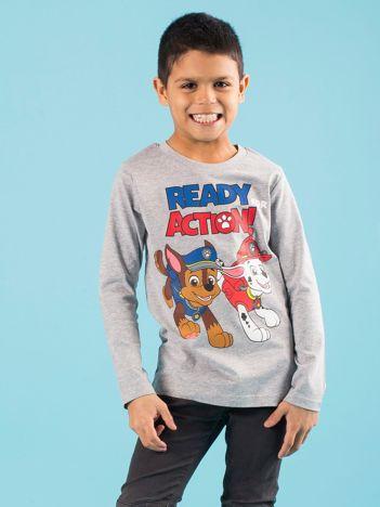 Szara bluzka dziecięca z nadrukiem PSI PATROL