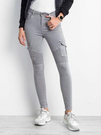 Szare spodnie Hello