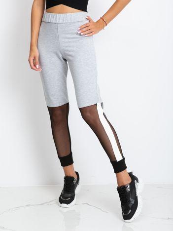 Szare spodnie Melody