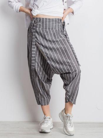 Szare spodnie Vibing