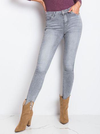 Szare spodnie Women