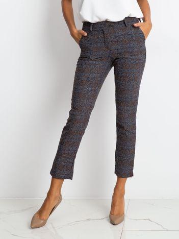 Szaro-brązowe spodnie Daphne