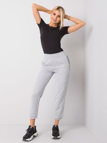 Szaro-czarne spodnie Keisha FOR FITNESS