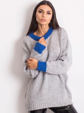 Szary sweter Pretty