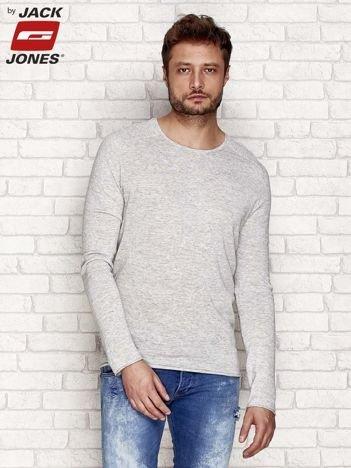 Szary sweter męski basic