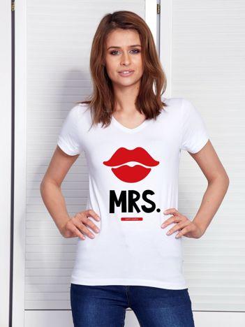 T-shirt biały dla par MRS.