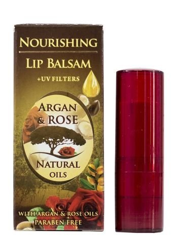 THE ROSE Balsam do ust w sztyfcie Argan&Rose 5 ml