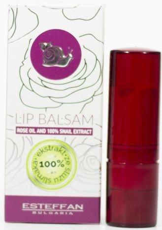 THE ROSE Balsam do ust ze 100-procentowym ekstraktem ze ślimaka i olejkiem różanym 5 ml