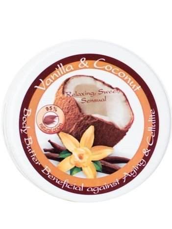 THE ROSE Masło do ciała z wanilią i kokosem 150 ml