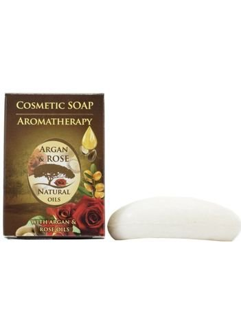 THE ROSE Naturalne mydło w kostce Argan&Rose 100 g