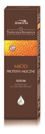 TRADYCYJNA RECEPTURA Serum regenerujące Miód i proteiny mleczne 50g