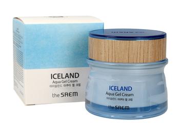 "The SAEM Iceland Aqua Gel Cream Krem-żel do twarzy  60ml"""