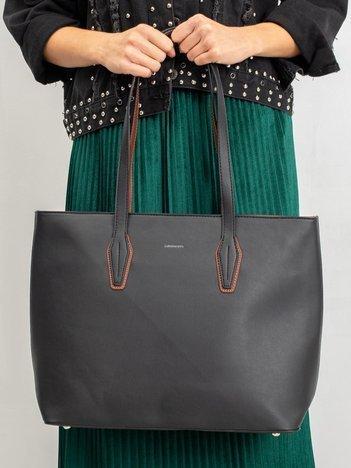 Torba shopper bag czarna