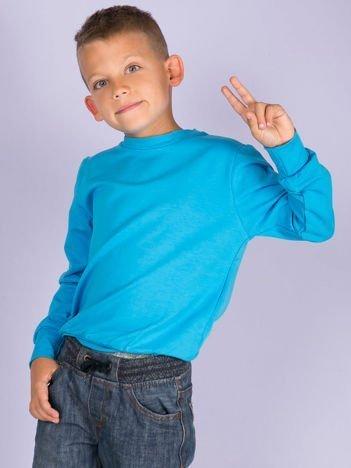 Turkusowa bluza młodzieżowa
