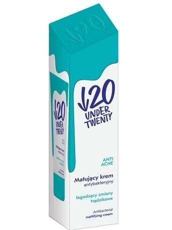 Under Twenty Krem Antybakteryjny Matujący 50 ml