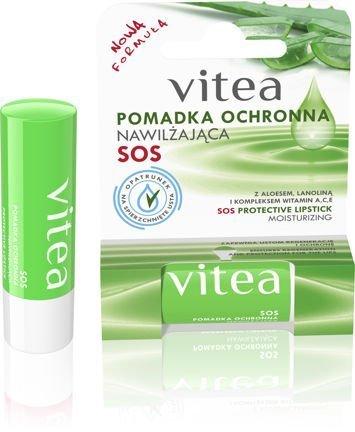 VITEA Pomadka ochronna Nawilżająca (aloes, lanolina, witaminy A,C,E) 4,9 g