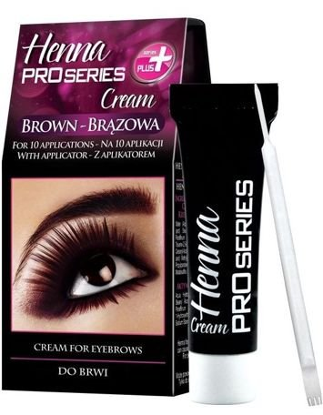 Verona PRO SERIES HENNA DO BRWI W KREMIE BRĄZ 15 ml