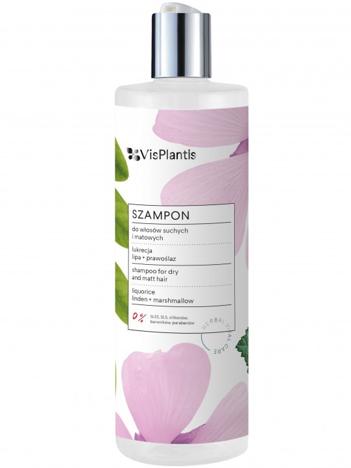 Vis Plantis Herbal Vital Care Szampon do włosów suchych i matowych (lukrecja-prawoślaz-lipa) 400 ml