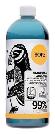 YOPE Naturalny płyn do mycia podłóg Francuska lawenda 1 l