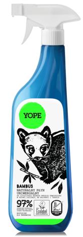YOPE Uniwersalny płyn do czyszczenia Bambus 750 ml