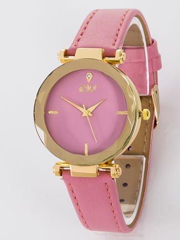 Zegarek damski fuksjowy