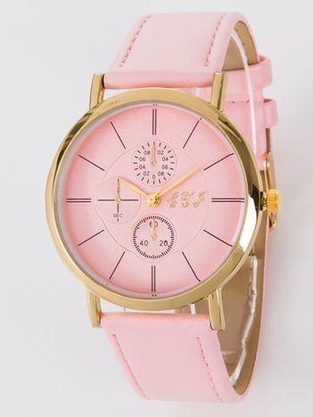 Zegarek damski różowy