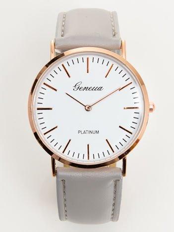Zegarek damski szary klasyczny