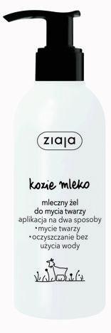 Ziaja Kozie Mleko MLECZNY ŻEL DO MYCIA TWARZY 200 ml