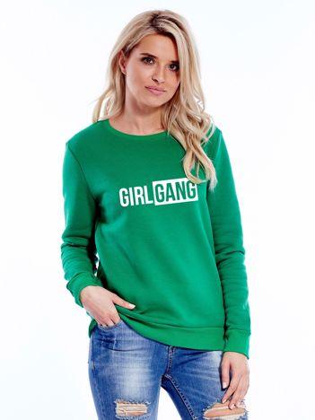 Zielona bluza damska GIRL GANG