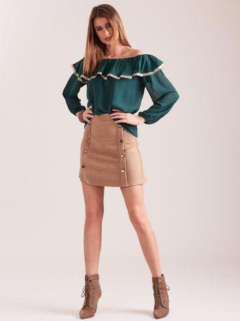 Zielona bluzka hiszpanka