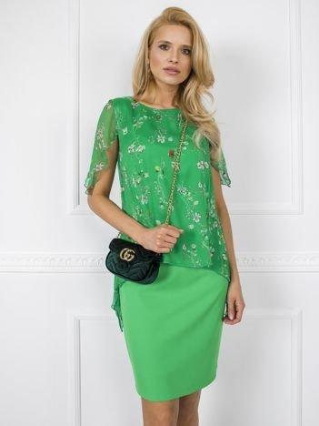 Zielona sukienka Marisa