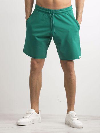 Zielone spodenki męskie