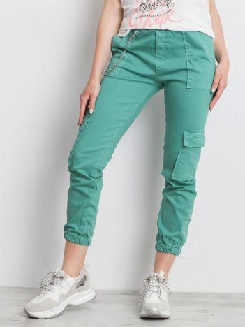 Zielone spodnie Constans