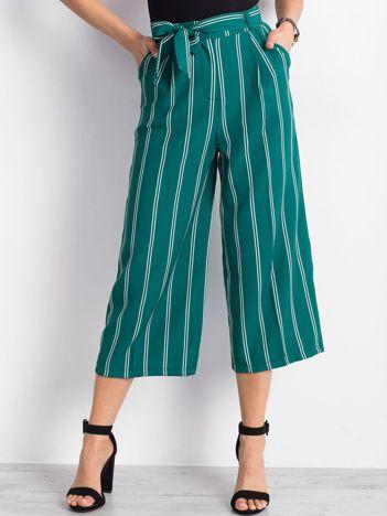 Zielone spodnie Mountainside