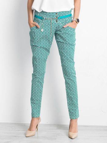 Zielone spodnie Relating