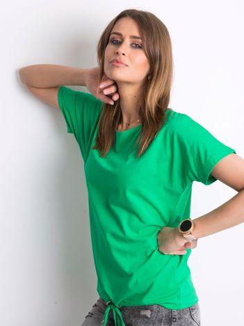 Zielony t-shirt Curiosity