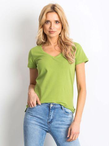 Zielony t-shirt Swinging